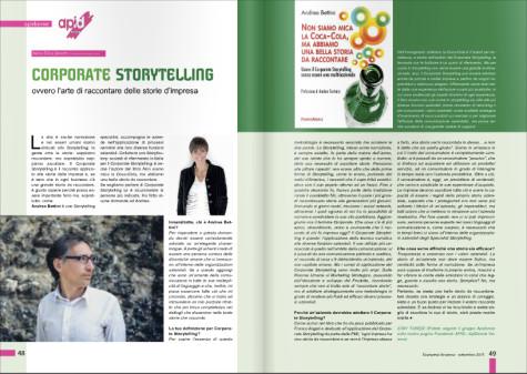 Corporate Storytelling intervista Andrea Bettini