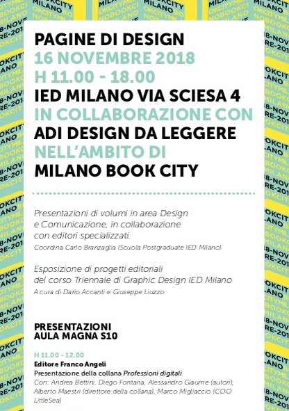 Milano Book City IED ADI DESIGN
