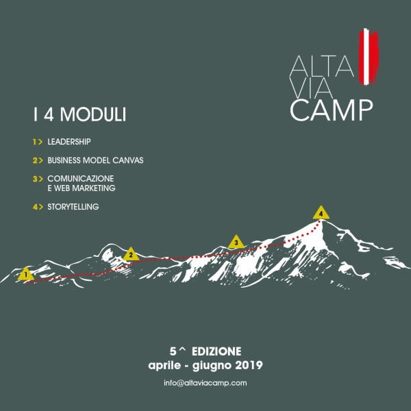Alta Via Camp - Quinta Edizione