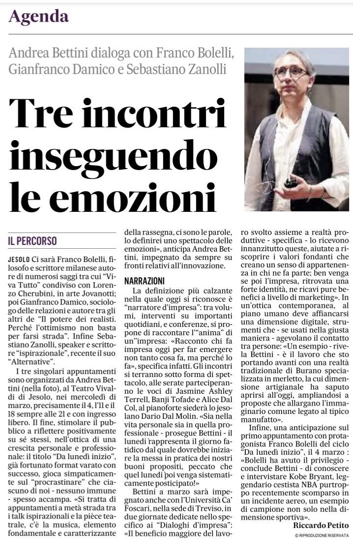 01 IlGazzettino_DaLunedìInizio